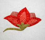 Mini Bellflower Applique Pattern