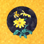 Black Eyed Susan Applique Pattern