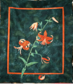 Tiger Lily Applique  Kit