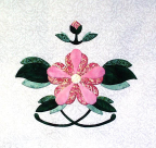 16 - Botan (Peony, modified!) Applique Pattern