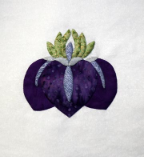 Mini Iris Single Applique Pattern