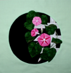 Morning Glory Applique Kit, Pink