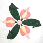 Mini Begonia Applique Pattern