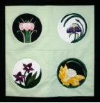 Mini Col 4floral Applique Patterns