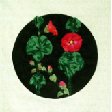 Hollyhocks Applique Pattern