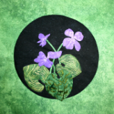 Verily Violet Applique Patern