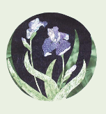 Iris Applique Pattern